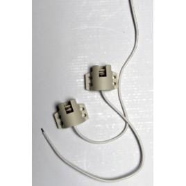 Douille de remplacement ceramique pour hqi 150W à clipser (la pièce)