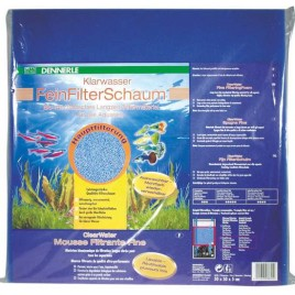 dennerle ClearWater mousse filtrante fine 50x50x5cm