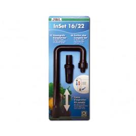 JBL Inset 12/16mm (canne d'aspiration, Kit complet)