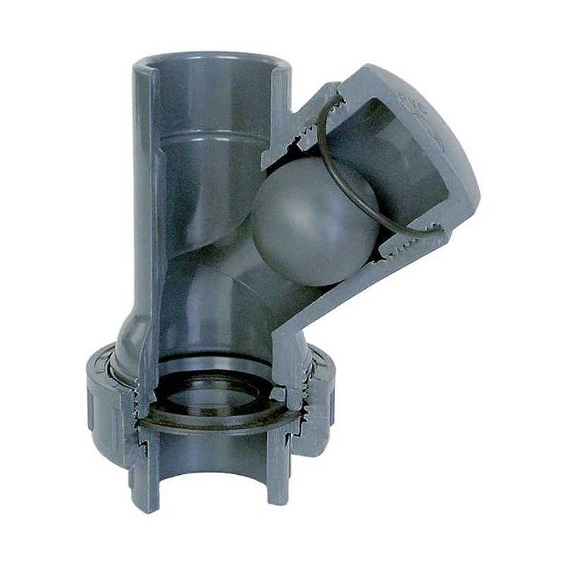 Billes r/ückschlagfolie clapet anti-retour pour ventilateur de 120 mm de diam/ètre