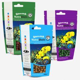 Gamma NutraShots vitality pack trois produits