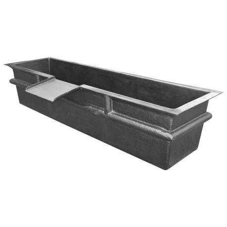 bassin hors sol avec cascade 260 x 62 x 60 cm. Black Bedroom Furniture Sets. Home Design Ideas