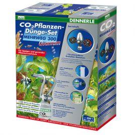 Dennerle set CO2 de fertilisation des plantes REUTILISABLE 300 Quantum