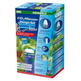 Dennerle set CO2 de fertilisation des plantes JETABLE 160 Primus + électrovanne + minuteur