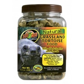 Zoomed Nat. Grass Tortoise Food 241gr
