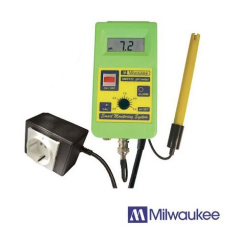 Testeur Contrôleur/Régulateur de pH Milwaukee (SMS122)