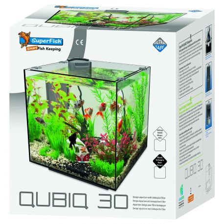 Superfish aquarium QUBIQ 30 Blanc