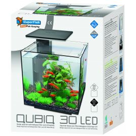 Superfish aquarium QUBIQ 30 Noir LED