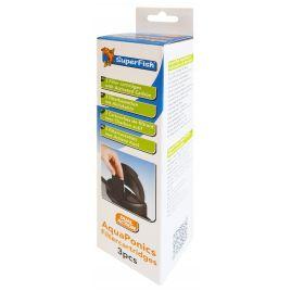 AquaPonics cartyouches de filtration avec charbon actif lot de 3