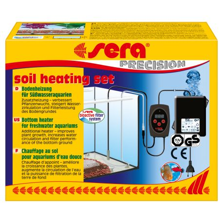 SERA Soil Heating Set - Câble chauffant et thermostat