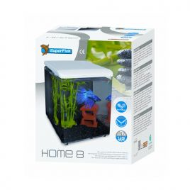 Superfish aquarium HOME 8 blanc