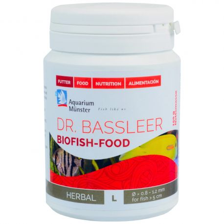 Dr.Bassleer Biofish Food herbal L 60g
