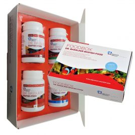 Dr.Bassleer Biofish FOOD/CADEAUBOX 60g Regular/Chlorella/Garlic/Acai