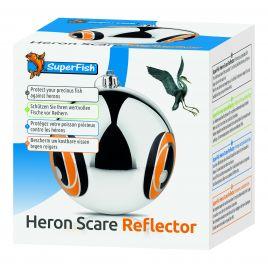 Superfish Heron Scare reflector   Protégez vos précieux poissons  Boule flottante de 15cm