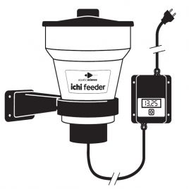 Aquatic Science Ichi Feeder distributeur automatique d'aliments pour poissons.