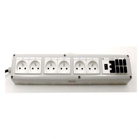 aquatronica multiprise avec connecteurs usb acq012 f. Black Bedroom Furniture Sets. Home Design Ideas