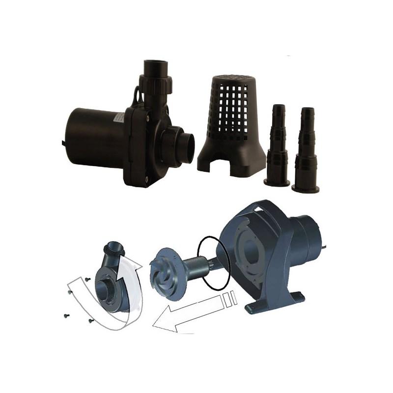 Pompes d 39 tang forza 5000 4800l h 70 watts hauteur d 39 eau for Pompe a eau etang
