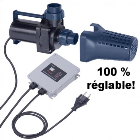 Pompes d 39 tang forza vario 8000 8000l h 14 75 watts for Pompe a eau etang