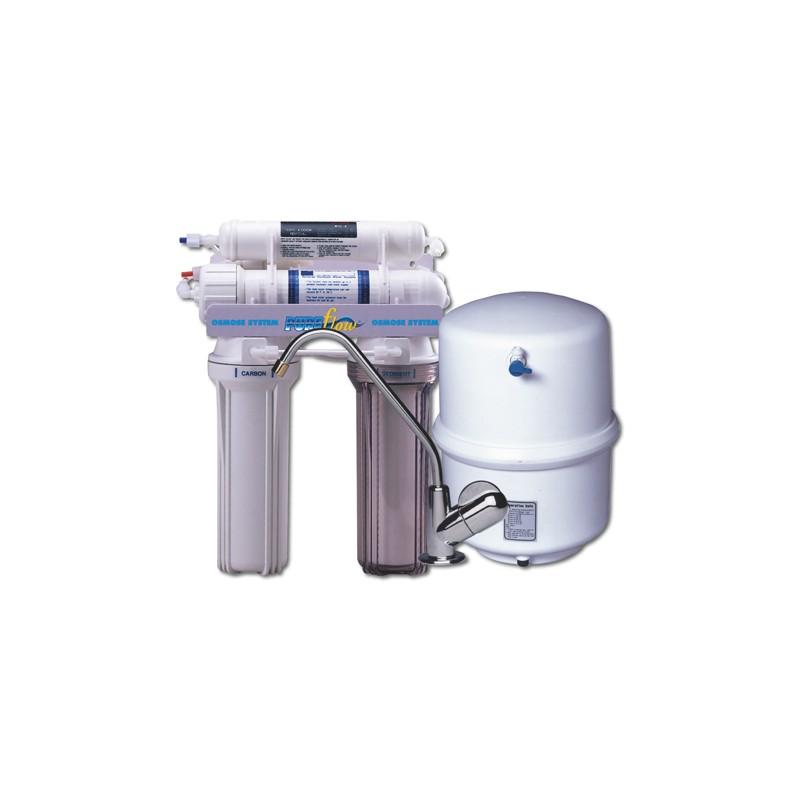osmoseur pure flow 4000sh 380 litres jours avec r servoir et robinet. Black Bedroom Furniture Sets. Home Design Ideas