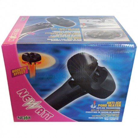 NeWatt anti-ice pond heater booster effect