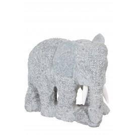 Eléphant en granite 30x25cm