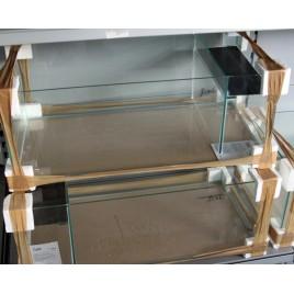 filtre à double compartiments DELTA 80 x 80cm