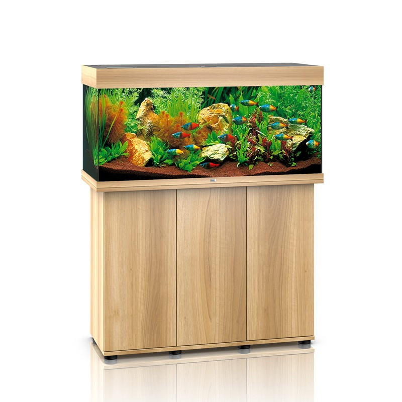 juwel aquarium rio 180 line led light wood avec meuble avec portes. Black Bedroom Furniture Sets. Home Design Ideas
