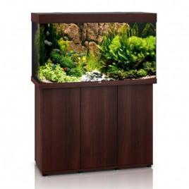 Juwel Aquarium Rio 300 bois brun avec meuble avec portes