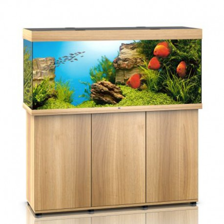 juwel aquarium rio 450 line led light wood avec meuble avec portes. Black Bedroom Furniture Sets. Home Design Ideas